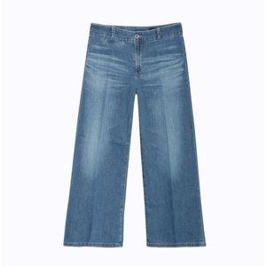 AG Jeans 'Bobbie' Wide Cropped Leg Midrise Denim